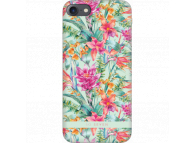 Husa Plastic SoSeven Hawai Tropical pentru Apple iPhone 7 / Apple iPhone 8, Verde, Blister