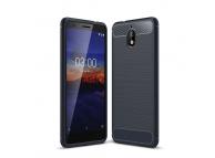 Husa TPU OEM Carbon pentru Nokia 3.1, Bleumarin, Bulk