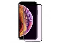 Folie Protectie Ecran Enkay pentru Apple iPhone X / Apple iPhone XS, Sticla securizata, Full Face, 3D, Anti Blue-Ray, Neagra, Blister