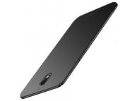 Husa Plastic Mofi Slim pentru Nokia 3.1, Neagra, Blister