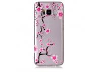 Husa TPU OEM Pink Plum Samsung Galaxy S8 G950, Multicolor, Bulk