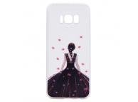 Husa TPU OEM Wedding Girl Samsung Galaxy S8 G950, Multicolor, Bulk