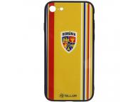 Husa TPU Tellur cu spate din sticla pentru Apple iPhone 8, Suporter, Multicolor, Blister FRF000029