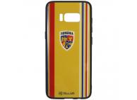 Husa TPU Tellur cu spate din sticla pentru Samsung Galaxy S8 G950, Suporter, Multicolor, Blister FRF000033