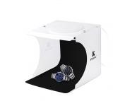 Cort fotografie produs studio cube pliabil cu LED Puluz PU5022 22cm
