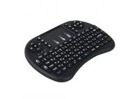 Mini Tastatura Wireless I8 cu touchpad Neagra Blister