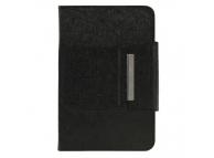 Husa Piele OEM Silk cu tastatura Bluetooth 3.0 pentru Tableta 10.1 inci, Neagra, Bulk