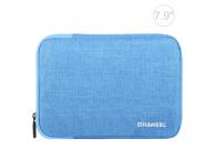 Husa Textil Haweel pentru Tableta 7.9 inci, Albastra, Bulk
