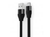 Cablu Date si Incarcare USB la Lightning Joyroom U-Shape S-M359, 1 m, Negru, Blister