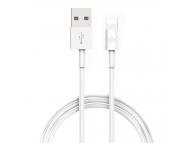 Cablu Date si Incarcare USB la Lightning Totu Design 3 bucati, 0.5 m - 1 m - 2 m, Alb, Blister