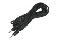 Cablu Audio 3.5 mm la 3.5 mm OEM, 1.5 m, Negru, Bulk