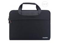 Husa textil laptop 13.3 inci Haweel Neagra