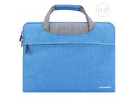 Husa textil laptop 13.3 inci Haweel Albastra
