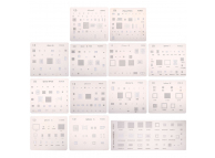 Set Sita BGA pentru Apple iPhone 4 - iPhone 7 - iPad (13 buc)