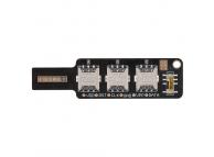 Placa Test cartela SIM Nano SIM (3 sloturi)