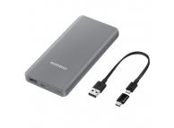 Baterie Externa Powerbank Samsung EB-P3000CSEGWW 10000 mA, 1 x USB, Argintie, Blister EB-P3000CSEGWW