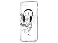 Husa TPU OEM Ultra Trendy Music1 pentru Apple iPhone XS Max, Transparenta, Bulk