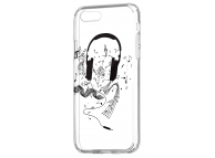 Husa TPU OEM Ultra Trendy Music1 pentru Samsung Galaxy J3 (2017) J330, Transparenta, Bulk