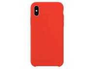 Husa TPU OEM Pure Silicone pentru Apple iPhone XS Max, Rosie, Blister