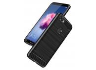 Husa TPU OEM Carbon pentru Huawei P smart, Neagra, Bulk