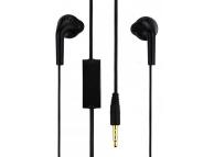 Handsfree Casti EarBuds Samsung EHS61, Cu microfon, 3.5 mm, Negru, Bulk