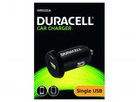 Incarcator Auto USB Duracell DR5020A, 2.4A, 1 X USB, Negru, Blister