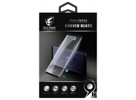 Folie Protectie Ecran OEM pentru Samsung Galaxy S9 G960, Sticla securizata, Full Face, Full Glue UV, Blister