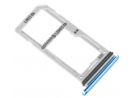 Suport Card - Suport SIM Dual SIM Bleu Samsung Galaxy S8 G950 / Samsung Galaxy S8+ G955