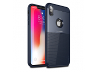 Husa TPU iPaky Shield pentru Apple iPhone X / Apple iPhone XS, Bleumarin, Blister