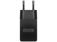 Incarcator Retea USB Inuvik INP000103, 2.1A, 1 X USB, Negru, Blister