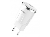 Incarcator Retea USB HOCO C37A Thunder Power, 1 X USB, Alb, Blister