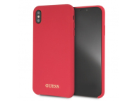 Husa Silicon - TPU Guess pentru Apple iPhone XS Max, GUHCI65LSGLRE, Rosie, Blister