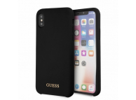 Husa TPU Guess pentru Apple iPhone X / Apple iPhone XS, GUHCPXLSGLBK, Neagra, Blister
