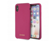Husa TPU Guess pentru Apple iPhone X / Apple iPhone XS, GUHCPXLSGLPI, Roz, Blister