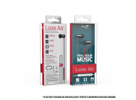 Handsfree Casti In-Ear iFrogz Luxe Air, Cu microfon, 3.5 mm, Rosu, Blister