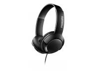 Casti On-Ear Philips BASS+, Fara microfon, 3.5 mm, Negru, Blister SHL3070BK/00