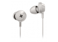 Handsfree Casti In-Ear Philips BASS+, Cu microfon, 3.5 mm, Alb, Blister SHE4305WT