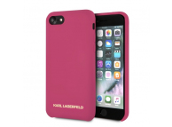 Husa TPU Karl Lagerfeld KLHCI8SLROG pentru Apple iPhone 7 / Apple iPhone 8, Ciclam, Blister