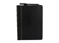 Husa Tableta Piele OEM Bible Style Business pentru Apple iPad Pro 10.5 (2017), Neagra, Bulk