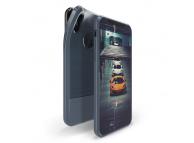 Husa TPU DUX DUCIS MOJO Carbon Magnetic Apple iPhone X / Apple iPhone XS, Bleumarin, Blister