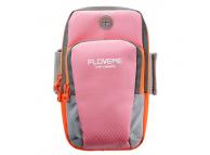 Husa Armband Floveme Sport pentru Telefon 5 inci - 6 inci, Roz, Blister