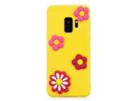 Husa TPU OEM Little Daisy pentru Samsung Galaxy S9 G960, Multicolor, Bulk