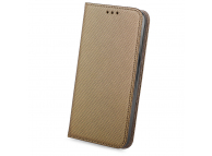 Husa Piele OEM Smart Magnet pentru Samsung Galaxy S9 G960, Bronz, Bulk