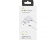 Incarcator Retea cu cablu Lightning Apple IP5MCEU1AWH, Alb, Blister