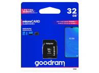 Card Memorie MicroSDHC GoodRam cu adaptor, 32Gb, Clasa 10 - UHS-1 U1