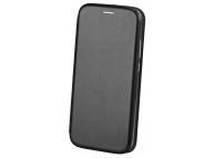 Husa Piele OEM Elegance pentru Apple iPhone 7 / Apple iPhone 8, Neagra, Bulk