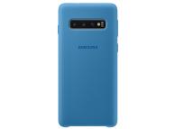 Husa TPU Samsung Galaxy S10 G973, Albastra, Blister EF-PG973TLEGWW