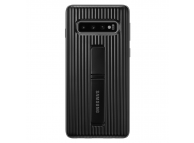 Husa Plastic Samsung Galaxy S10 G973, Standing, Negru, Blister EF-RG973CBEGWW