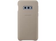 Husa Piele Samsung Galaxy S10e G970, Leather Cover, Bej EF-VG970LJEGWW