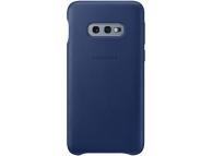 Husa Piele Samsung Galaxy S10e G970, Leather Cover, Bleumarin EF-VG970LNEGWW